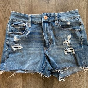 Super Stretch Jean Shorts